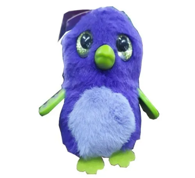 LLAVEROS HATCHIMALS DE PELUCHE
