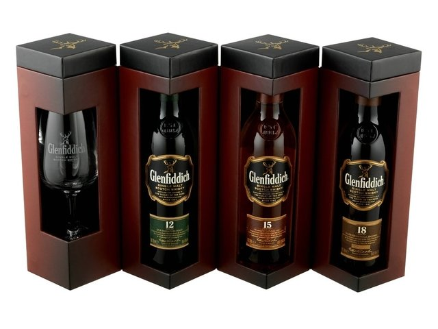 Whisky Glenfiddich Explorers Collection + Copa Degustación