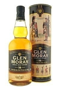 WHISKY GLEN MORAY 16 AÑOS BOTELLA DE 750 CC CON LATA ORIGINAL