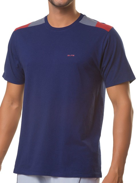 Camiseta Gola Careca Essencial - 125631