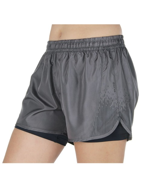 Short Running 33663 - grafite/preto
