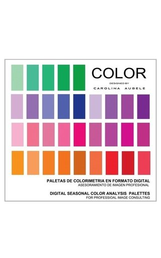 Paletas de colorimetría digitales