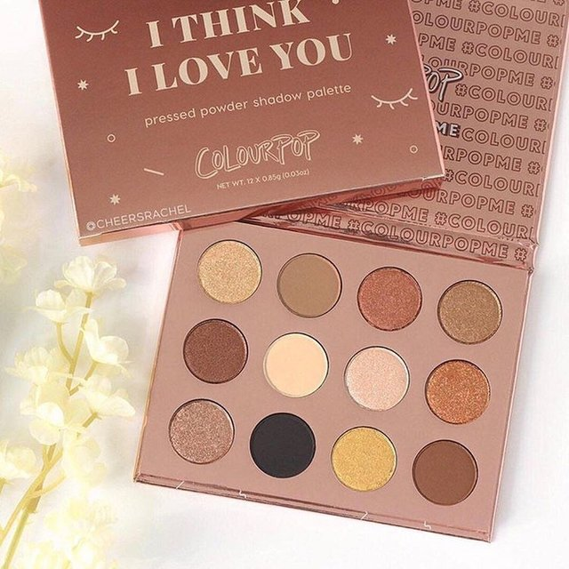 Colourpop - Pressed Powder Shadow Palette I Think I Love You