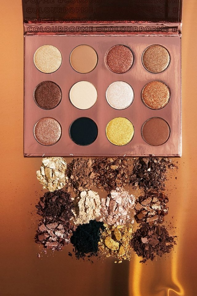 Colourpop - Pressed Powder Shadow Palette I Think I Love You - Beauty Charmy