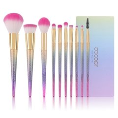 Docolor - 10 Pieces Fantasy Makeup Brush Set