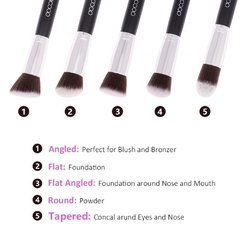 Docolor - 10 Pieces Makeup Brush Set - comprar online