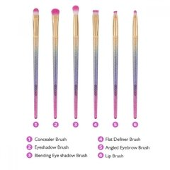 Docolor - 6 Pieces Fantasy Eye Brush Set - comprar online
