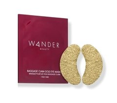 Wander Beauty - Baggage Claim Gold Eye Masks