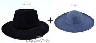 0ab7956fe5f56 Chapelaria Vintage Chapéu Fedora