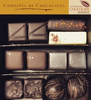 Caja Bombones Ganadores International Chocolate Awards