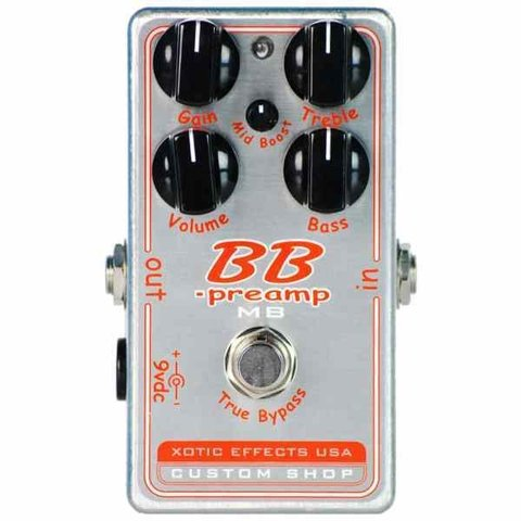 Xotic Effects BBP-MB Custom Shop BB Preamp