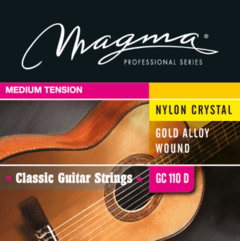 MAGMA ENCORDADO DORADO TENSION MEDIA PARA GUITARRA CLÁSICA - GC110D