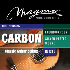 MAGMA ENCORDADO CARBON TENSION ALTA PARA GUITARRA CLÁSICA - GC120C