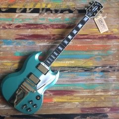 GIBSON Les Paul Custom SG Historic Reissue Inverness Green CUSTOM SHOP