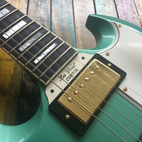 Les Paul Custom SG Inverness Green - Lead Music Private Stock