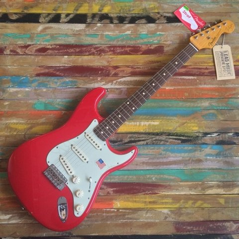 Mark Knopfler Stratocaster Hot Rod Red
