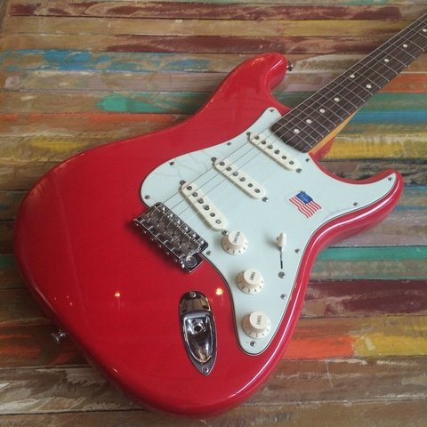 Mark Knopfler Stratocaster Hot Rod Red - comprar online