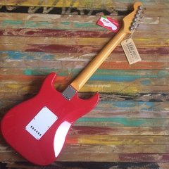 Mark Knopfler Stratocaster Hot Rod Red - Lead Music