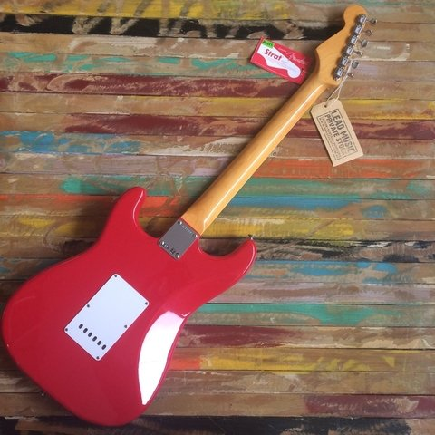 Mark Knopfler Stratocaster Hot Rod Red - Lead Music Private Stock