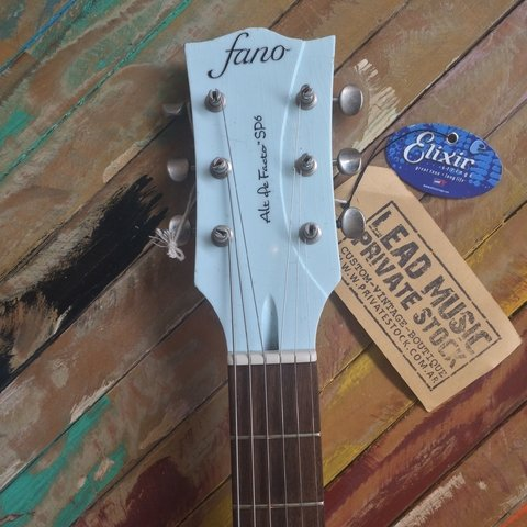 Fano Alt De Facto SP-6 Blue Boy - Lead Music Private Stock