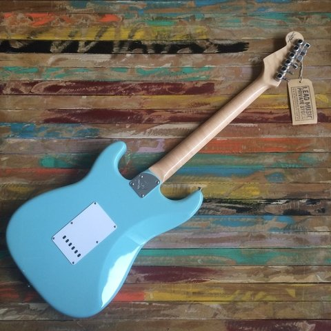 Custom Shop 1960 NOS Stratocaster Daphne Blue - Lead Music Private Stock