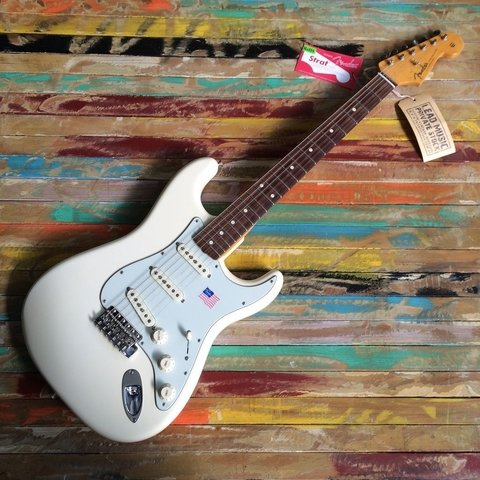Vintage Hot Rod ´62 Stratocaster Olympic White