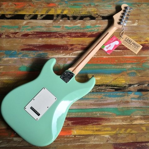 Jeff Beck Stratocaster Surf Green - Lead Music Private Stock