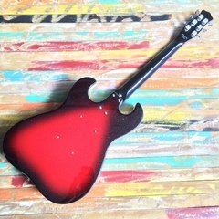 Danelectro 63 Red Sparkle