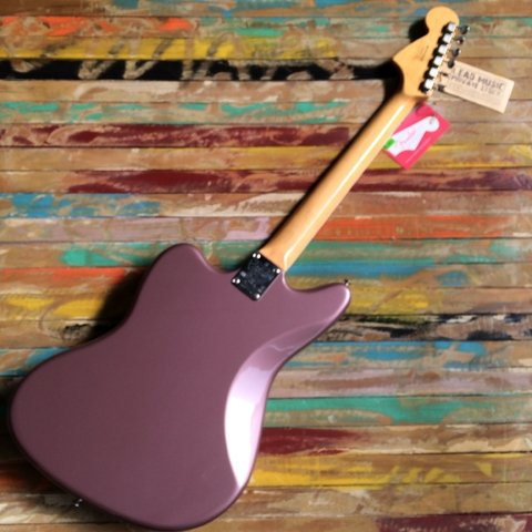 Fender American Vintage Jaguar 50Th Anniversary Burgundy Mist Metallic - Lead Music Private Stock