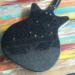 Danelectro 59 Black Metal Flakes