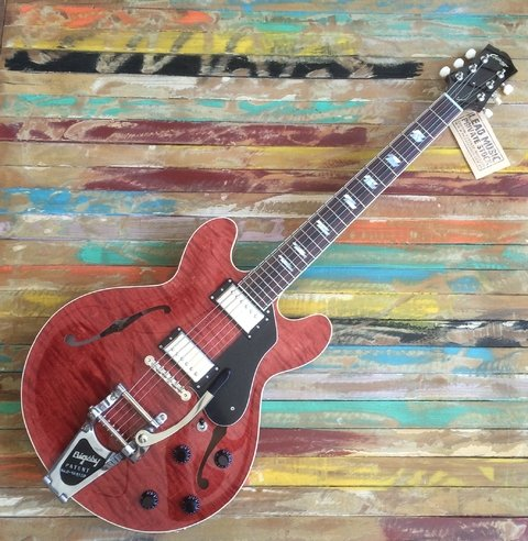 Collings I-35 LC Faded Cherry Bigsby