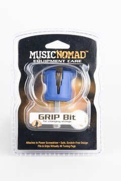 MusicNomad - GRIP Bit - Rubber Lined Drill Bit Pegwinder for Cordless Screwdriver - MN220