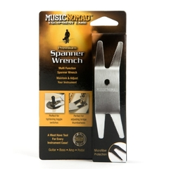 MusicNomad - Premium Spanner Wrench w/ Microfiber Suede Backing (NEW) - MN224