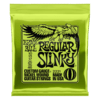 ERNIE BALL 10-46 REGULAR SLINKY NICKEL WOUND ELECTRIC GUITAR STRINGS - 2221