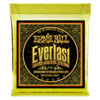 Ernie Ball EVERLAST MEDIUM LIGHT COATED 80/20 BRONZE ACOUSTIC GUITAR STRINGS - 12-54