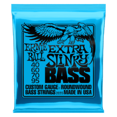 ERNIE BALL 40-95 EXTRA SLINKY NICKEL WOUND ELECTRIC BASS STRINGS - 2835