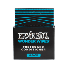 ERNIE BALL WONDER WIPES FRETBOARD CONDITIONER 6 PACK - 4276
