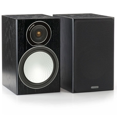 MONITOR AUDIO SILVER 1 (Par) - Bookshelf Black Oak - comprar online