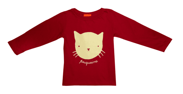 Remera Up roja (kids)