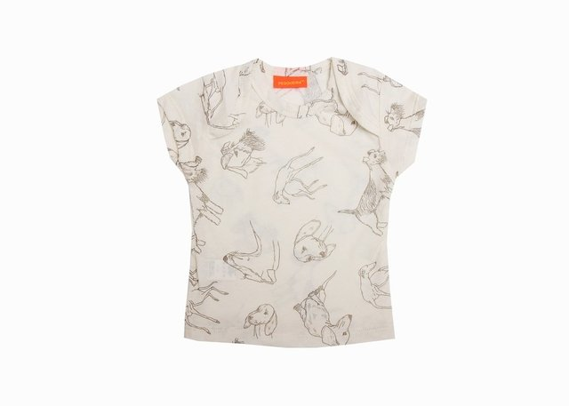 Remera Perritos KIDS - comprar online