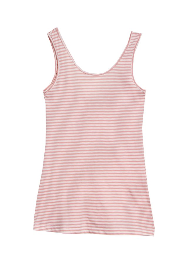 MUSCULOSA GINGER RAYAS ROSA - comprar online