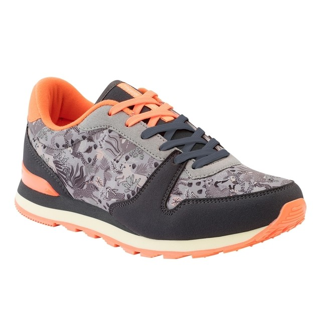 Running Silvestre gris/coral