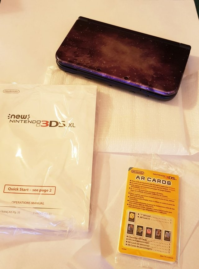 New Nintendo 3DS XL Galaxy en internet