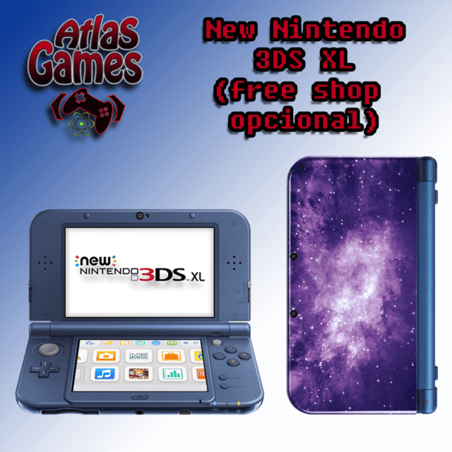 New Nintendo 3DS XL Galaxy