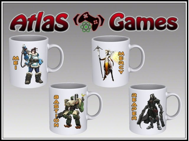Taza Overwatch Heroes
