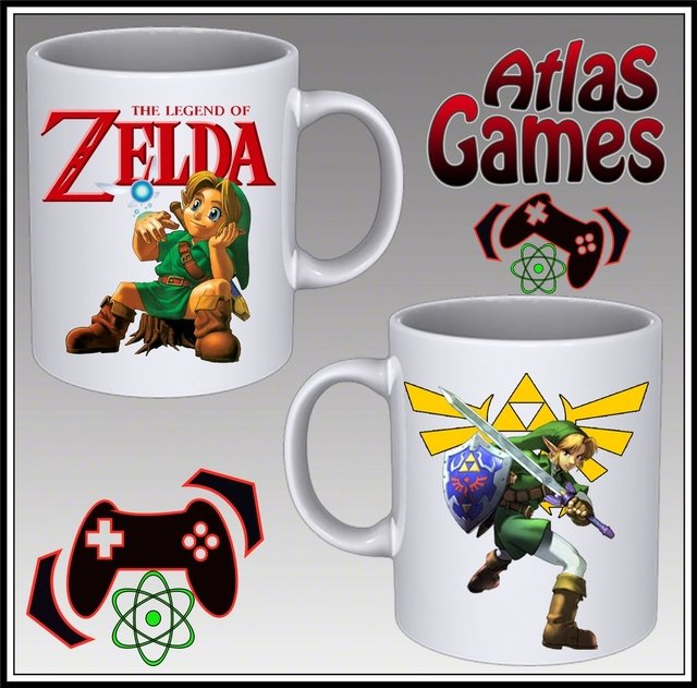 Taza Legend of Zelda Link