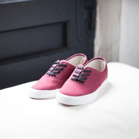 Navy Bordeaux - LEAF Eco-Shoes