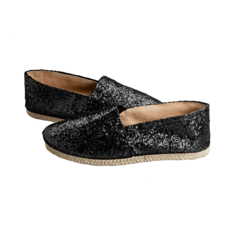 Sparkle Black - LEAF Eco-Shoes