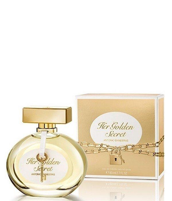 c3cfd7fd46 Antonio Banderas Her Golden Secret Feminino Eau de Toilette — TP ...