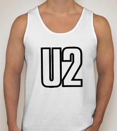 Camiseta Regata U2 Banda De Rock
